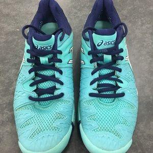 Asics Womens Sz 9 Gel Resolution 6 Tennis Shoes